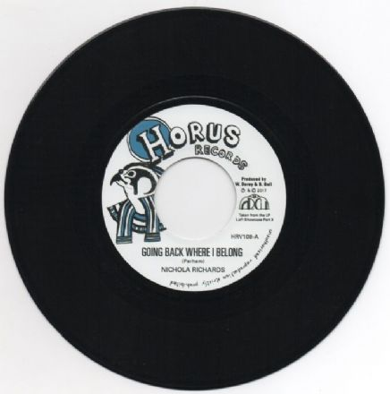Nichola Richards - Going Back Where I Belong / version (Horus Records) 7""